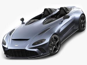 aston martin v12 3D model