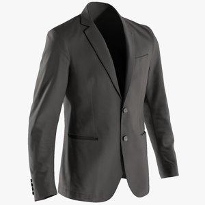 3D realistic men s blazer