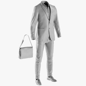 3D base mesh men s model