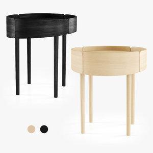 3D skirt coffee table