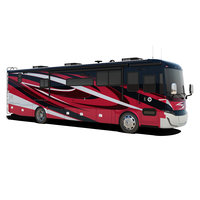 Recreational Vehicle Red