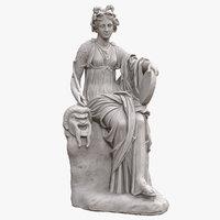 Thalia Seated Muse