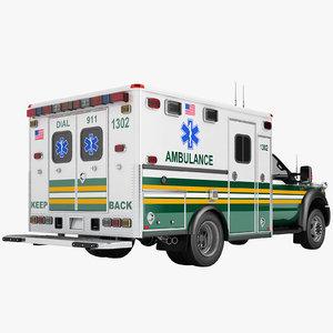 f450 2012 ambulance model