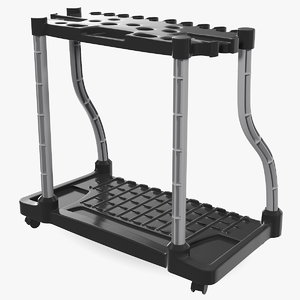 garden tool tower rack model