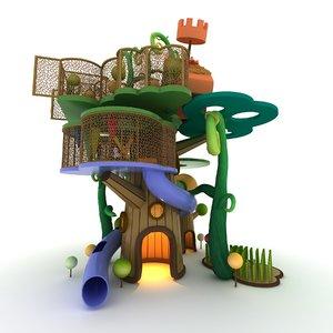 3D children s play model