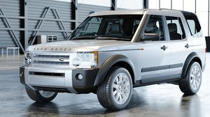 3D 2006 land rover discovery model
