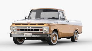 3D f100 1961 model