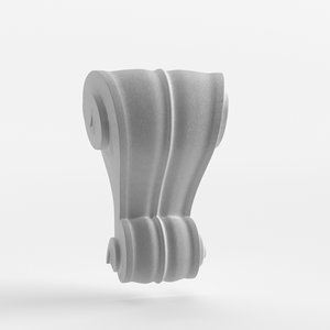 architectural element keystone 3D