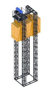 3D - industrial lift neighbors