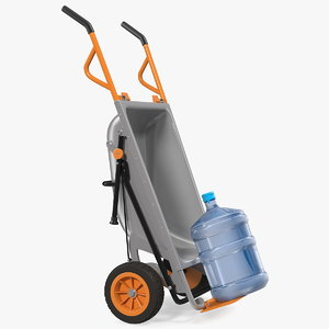 3D worx aerocart cart 5 gallon model