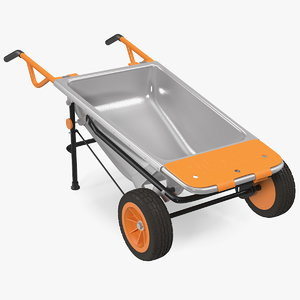 3D worx aerocart 8in1 wheelbarrow