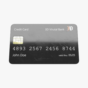 credit card 1 model