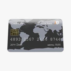 credit card model