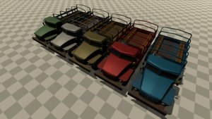 ural truck 3D model