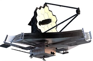 3D jamesweb space telescope hubble