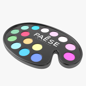 eyeshadow makeup 3D model