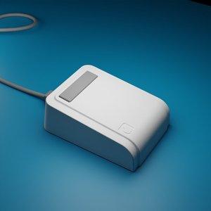 3D model lisa mouse computer