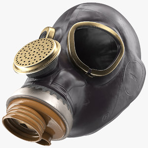 3D russian gas mask model
