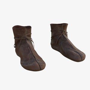 viking shoes 3D model