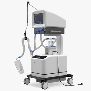 3D superstar s1100 icu ventilator