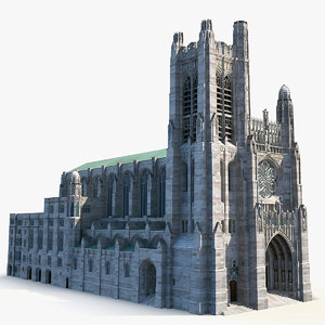 saint thomas church model