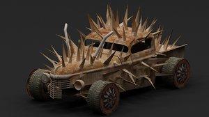 3D model mad car