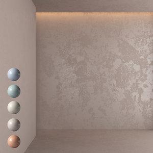 decorative plaster 3D model