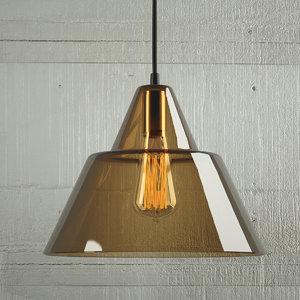 hanging lamp 14 loft 3D model