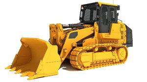 track loader 3D model