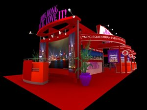 3D hong kong tour exhibition