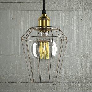 3D hanging lamp 15 loft