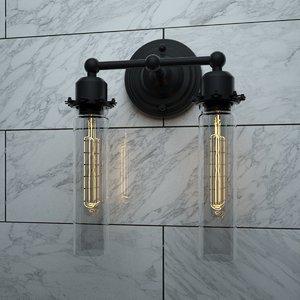 3D sconce 7 loft design