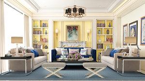 living room avangarde model