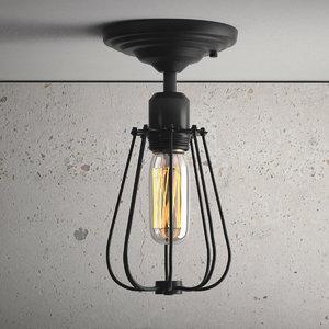 hanging lamp 16 loft 3D