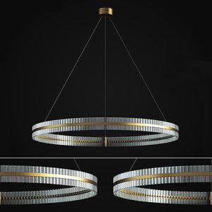 saturno pendant chandelier baroncelli 3D model