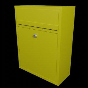 mailbox box mail 3D model