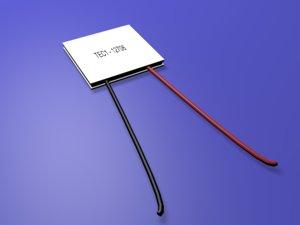 heatsink thermoelectric cooler 3D model