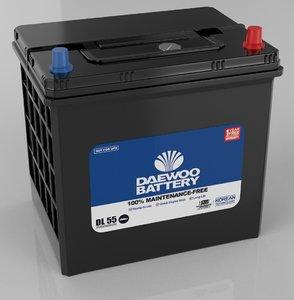 3D car battery dry