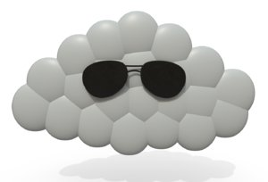 cool cloud 3D model