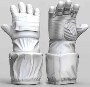 3D astronaut gloves