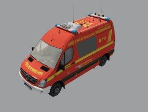 emergency 112 3D model