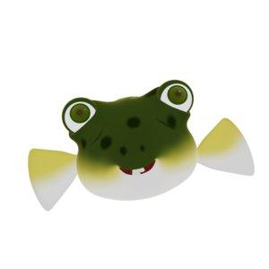 3D fugu fish cartoon