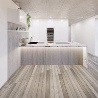 Full Parametric Kitchen Created in Revit Family Vol. 4