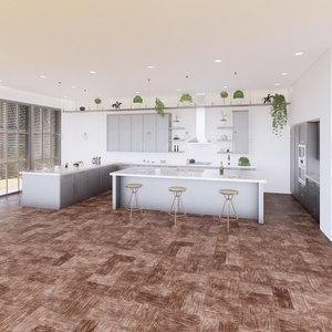 create kitchen revit parametric model
