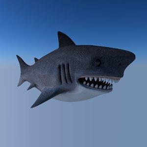 shark fish 3D model