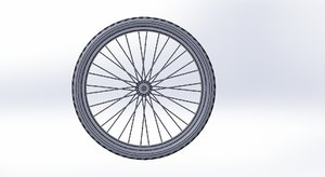 bicycle tire 26 1 3D