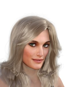 actress natalie portman 3D model
