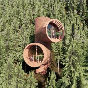 3D tree house 2