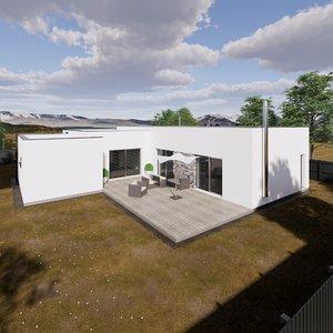 3D family house 1