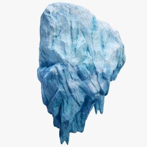 3D iceberg pbr ice model